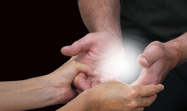 Les mains de Xavier